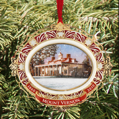 2010 Mount Vernon Holiday Ornament