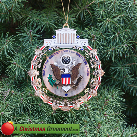 2010 Supreme Court Holiday Ornament