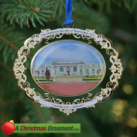 The Washington DC Historical Society Ornament