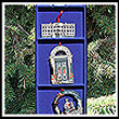 1985-1988 Set of Four Official White House Christmas Ornaments