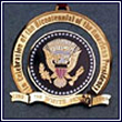 1989 Bicentennial of the Presidency White House Ornament