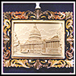 2001 Marble Capitol Ornament