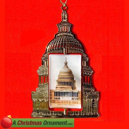 2002 Walter Spin Dome Ornament