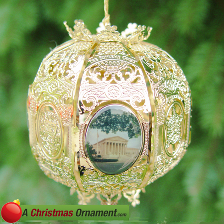 2003 Supreme Court Sphere Ornament