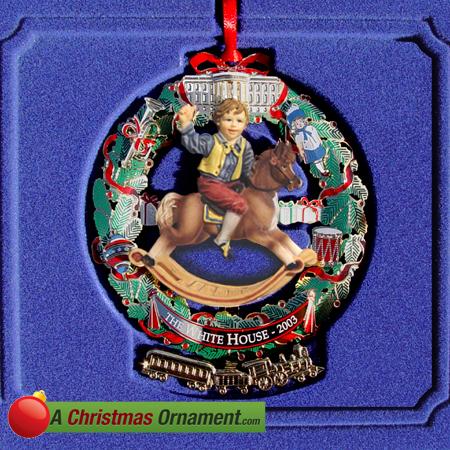 2003 White House Ulysses S. Grant Ornament
