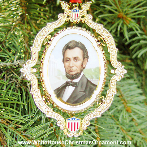 2004 American President Collection Abraham Lincoln Ornament
