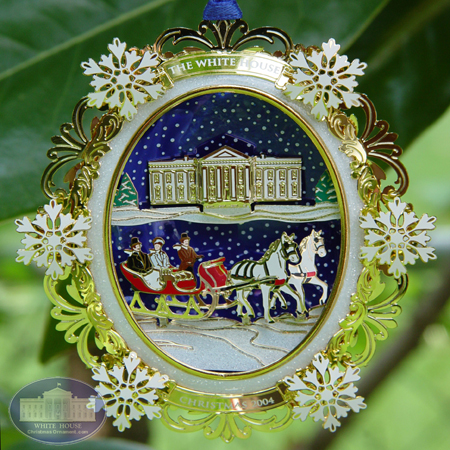 2004 White House Rutherford B. Hayes Ornament