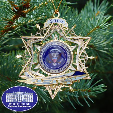 2006 Air Force One Ornament