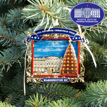 2007 Secret Service National Christmas Tree Ornament