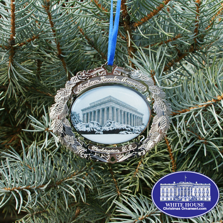 Abraham Lincoln Memorial Ornament
