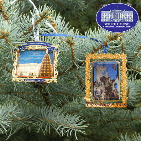 2008 Secret Service Ornament Gift Set