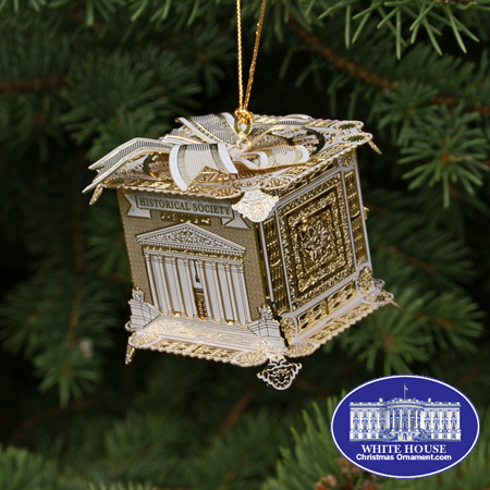 2008 Supreme Court Gift Box Ornament