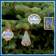 2008 White House Christmas Ornament Collection