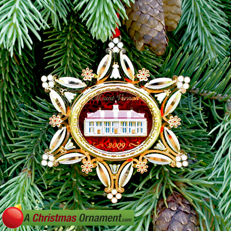 2009 Mount Vernon 250th Anniversary Ornament
