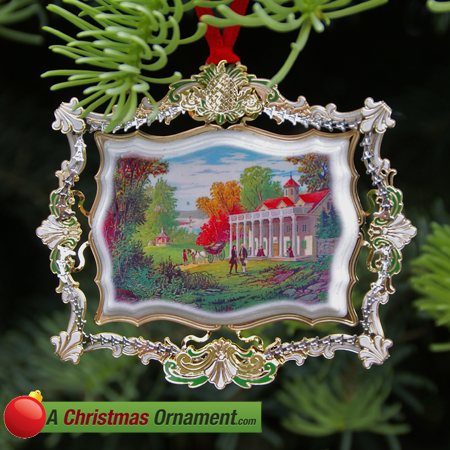 2012 Mount Vernon Holiday Ornament