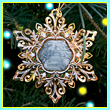 2012 U.S. Capitol Snowflake Ornament
