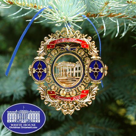 2006 White House Chester A. Arthur Ornament