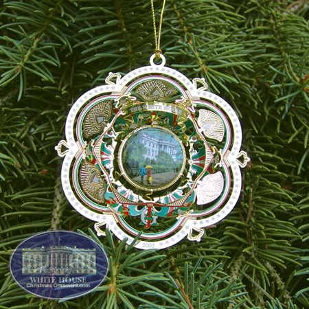 2005 White House James A. Garfield Ornament