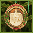 2009 Secret Service Abraham Lincoln Bicentennial Ornament