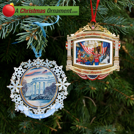 2010 White House Ornament Gift Set