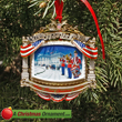2010 White House William McKinley Christmas Ornament