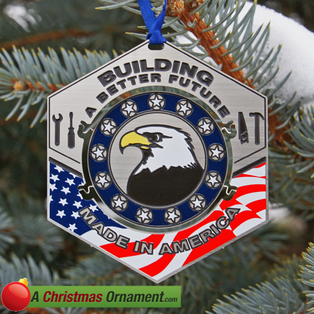 Official Made In America Ornament