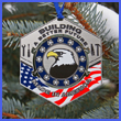 Made In America Ornament