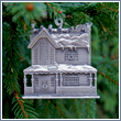 "Pewter ""Our Christmas Eve"" Relief Ornament"
